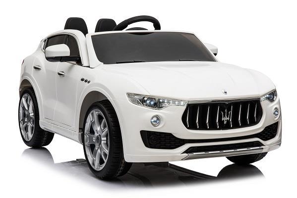 Maserati Levante, masinuta electrica pentru copii, alba 0