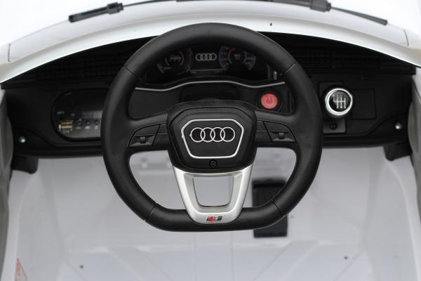 Masinuta electrica Audi Q8 STANDARD 12V #Alb 9