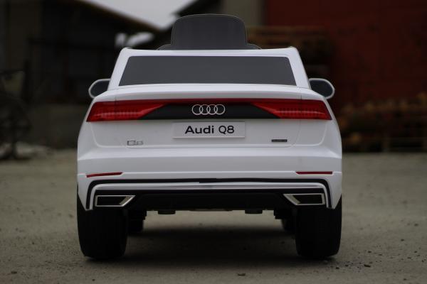 Masinuta electrica Audi Q8 STANDARD 12V #Alb 10