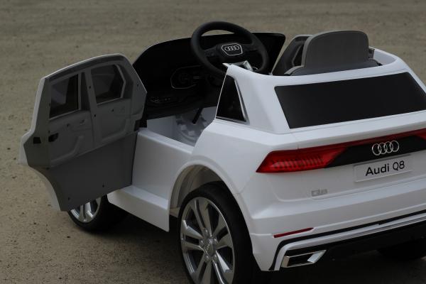 Masinuta electrica Audi Q8 STANDARD 12V #Alb 3