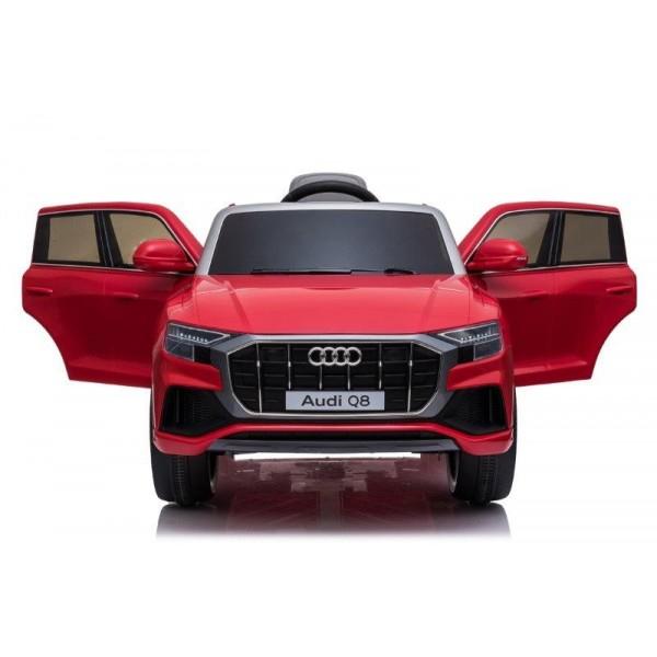 Masinuta electrica Audi Q8 STANDARD 12V #Rosu [6]