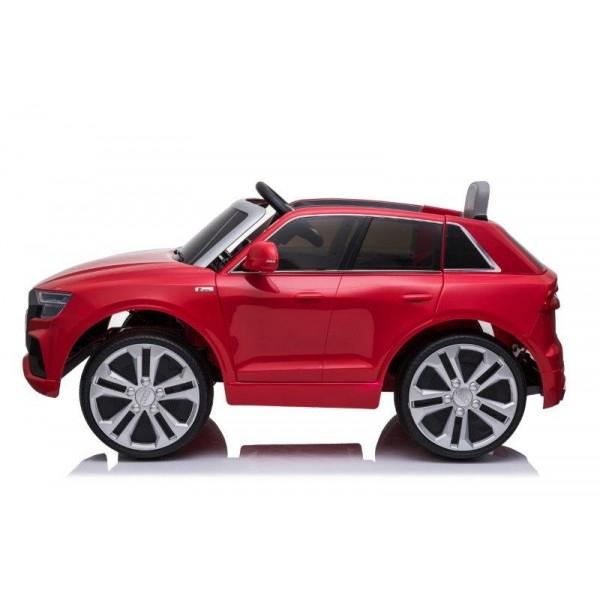 Masinuta electrica Audi Q8 STANDARD 12V #Rosu [3]