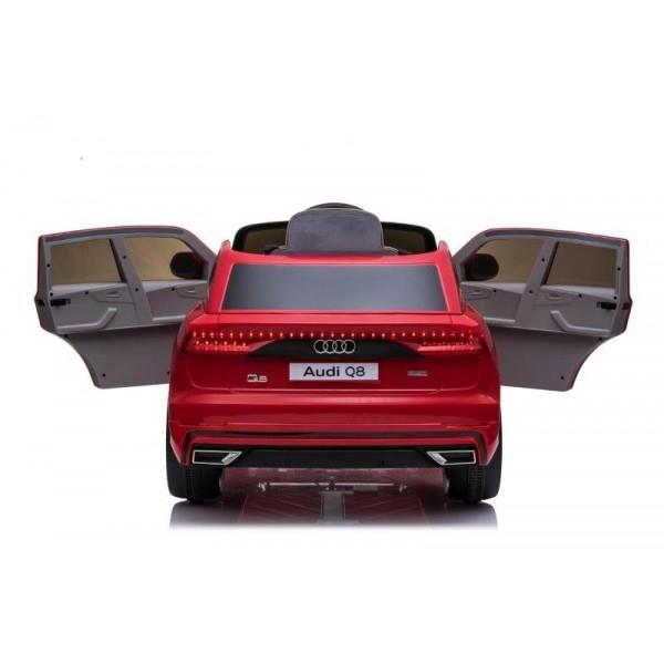 Masinuta electrica Audi Q8 STANDARD 12V #Rosu [8]