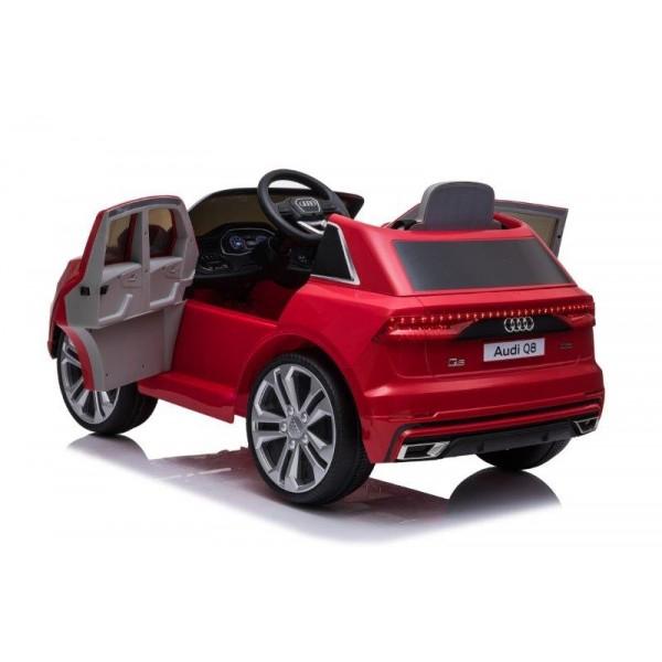 Masinuta electrica Audi Q8 STANDARD 12V #Rosu [7]