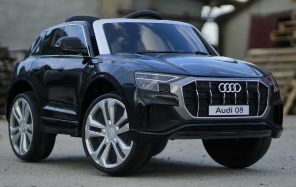 Masinuta electrica Audi Q8 STANDARD 12V #Negru 2