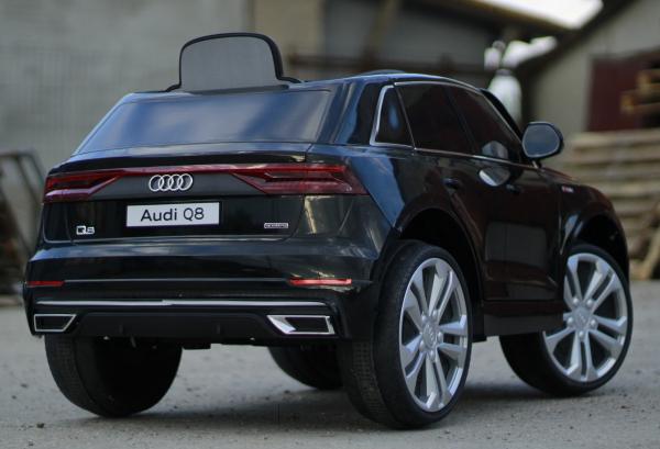 Masinuta electrica Audi Q8 STANDARD 12V #Negru 4