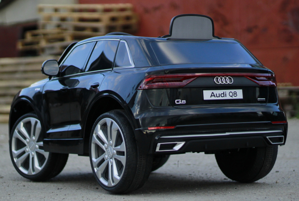 Masinuta electrica Audi Q8 STANDARD 12V #Negru 5