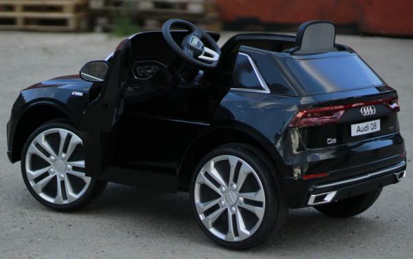 Masinuta electrica Audi Q8 STANDARD 12V #Negru 6