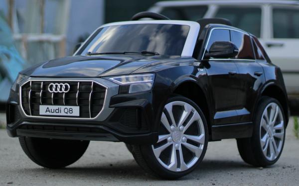 Masinuta electrica Audi Q8 STANDARD 12V #Negru 3