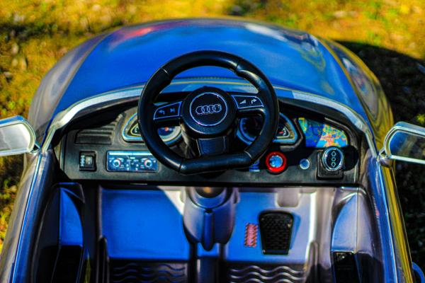 Masinuta electrica Audi RS5 2x35W STANDARD 12V MP3 #Gri 7