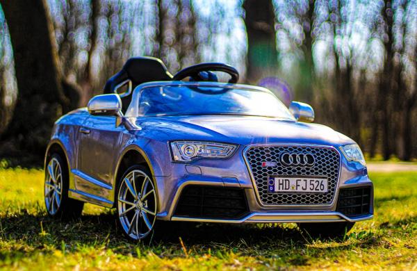 Masinuta electrica Audi RS5 2x35W STANDARD 12V MP3 #Gri 4