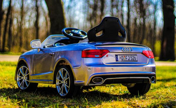 Masinuta electrica Audi RS5 2x35W STANDARD 12V MP3 #Gri 6