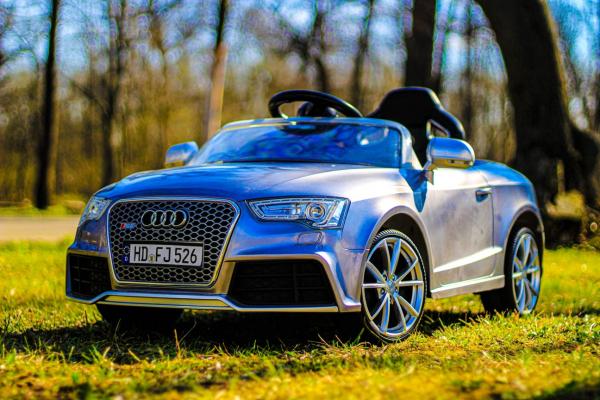 Masinuta electrica Audi RS5 2x35W STANDARD 12V MP3 #Gri 5