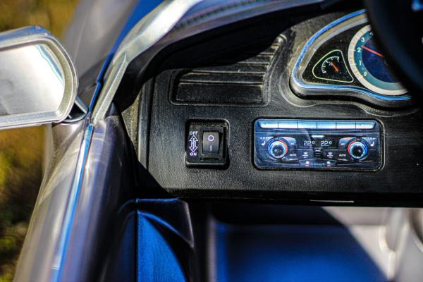Masinuta electrica Audi RS5 2x35W STANDARD 12V MP3 #Gri 11