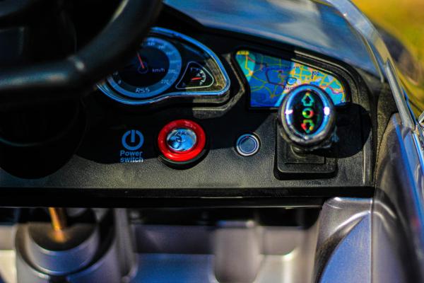Masinuta electrica Audi RS5 2x35W STANDARD 12V MP3 #Gri 10