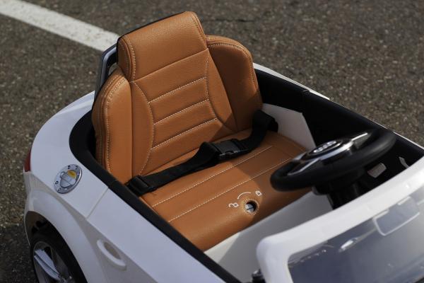 Masinuta electrica Audi TTS 2x 30W 12V PREMIUM #Alb 7