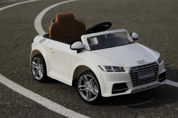 Masinuta electrica Audi TTS 2x 30W 12V PREMIUM #Alb 12