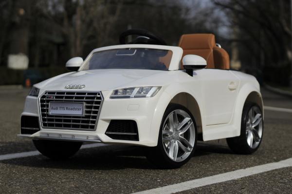 Masinuta electrica Audi TTS 2x 30W 12V PREMIUM #Alb 1