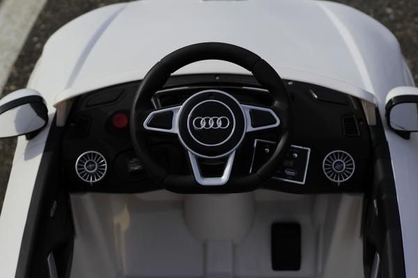 Masinuta electrica Audi TTS 2x 30W 12V PREMIUM #Alb 3
