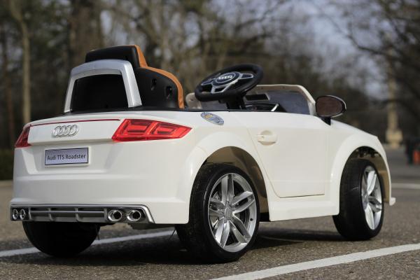 Masinuta electrica Audi TTS 2x 30W 12V PREMIUM #Alb 11
