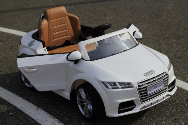 Masinuta electrica Audi TTS 2x 30W 12V PREMIUM #Alb 2