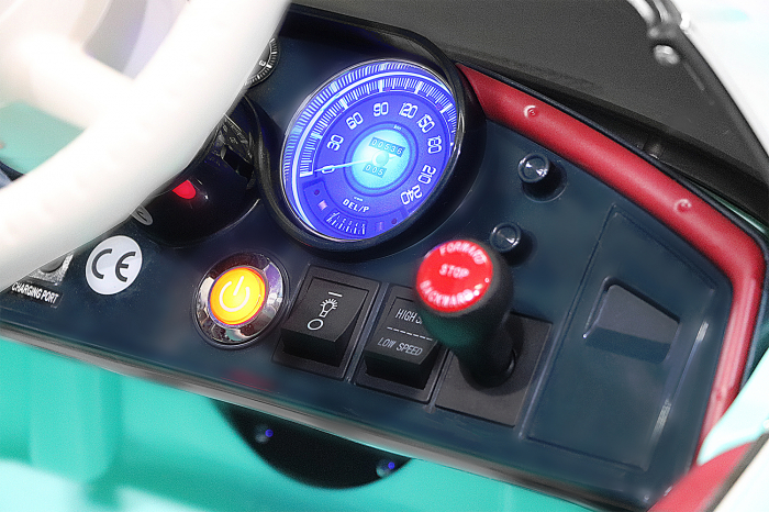 Masinuta electrica Bmw 507 Oldtimer 70W PREMIUM #Negru 5