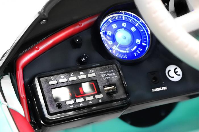 Masinuta electrica Bmw 507 Oldtimer 70W PREMIUM #Negru 6