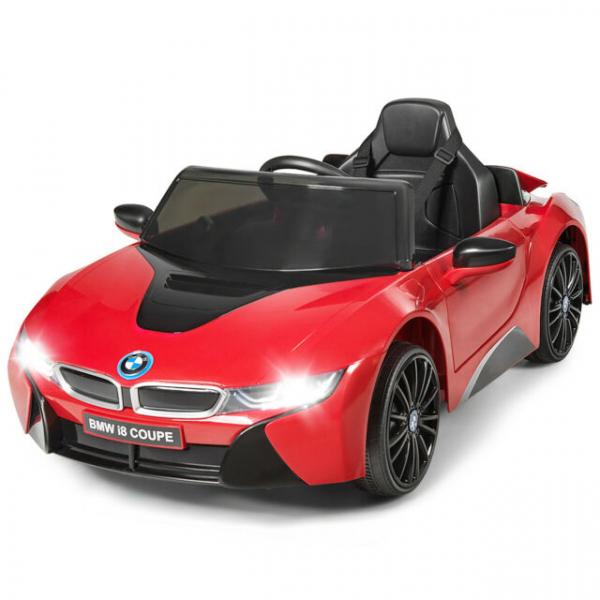 Masinuta electrica BMW i8 Coupe STANDARD #Rosu 0