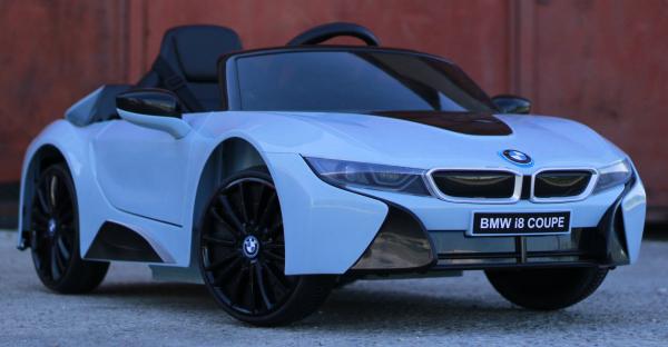 Masinuta electrica BMW i8 Coupe STANDARD #Albastru 2