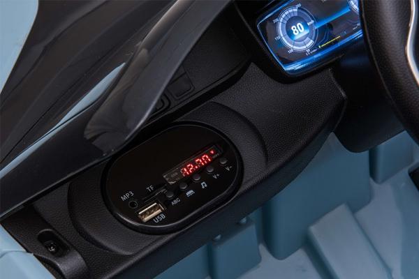 Masinuta electrica BMW i8 Coupe STANDARD #Albastru 5