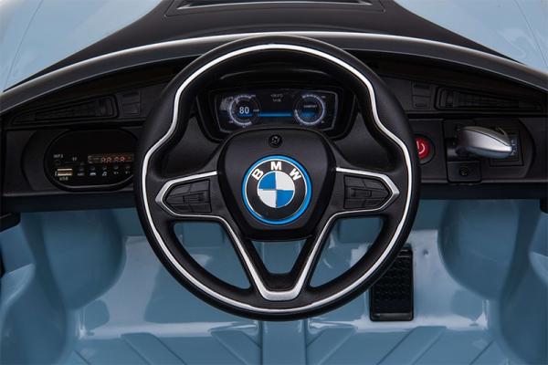 Masinuta electrica BMW i8 Coupe STANDARD #Albastru 7