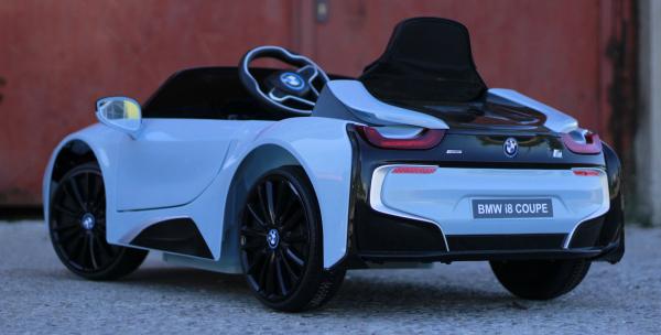 Masinuta electrica BMW i8 Coupe STANDARD #Albastru 4