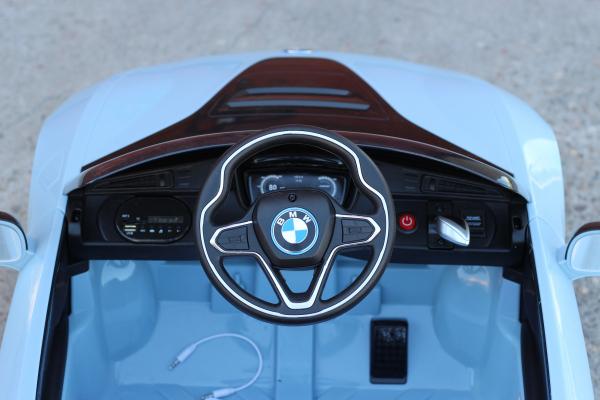 Masinuta electrica BMW i8 Coupe STANDARD #Albastru 8