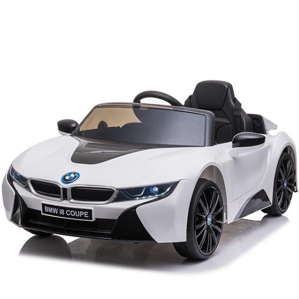 Masinuta electrica BMW i8 Coupe STANDARD #Alb 0