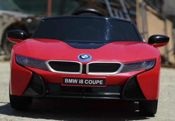 Masinuta electrica BMW i8 Coupe STANDARD #Rosu [1]