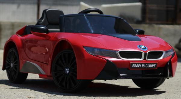 Masinuta electrica BMW i8 Coupe STANDARD #Rosu [2]