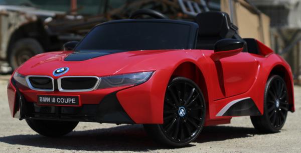Masinuta electrica BMW i8 Coupe STANDARD #Rosu [3]