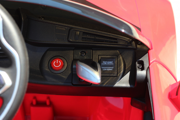 Masinuta electrica BMW i8 Coupe STANDARD #Rosu [8]