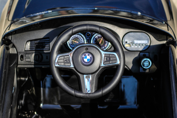 Masinuta electrica Bmw Seria 6 GT 12V PREMIUM #Negru 7
