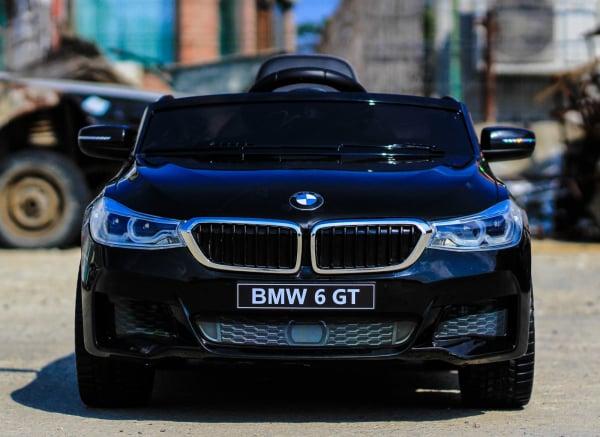 Masinuta electrica Bmw Seria 6 GT 12V PREMIUM #Negru 5