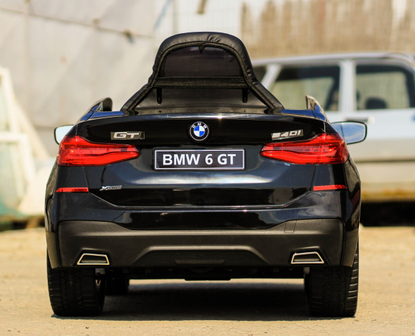 Masinuta electrica Bmw Seria 6 GT 12V PREMIUM #Negru 9