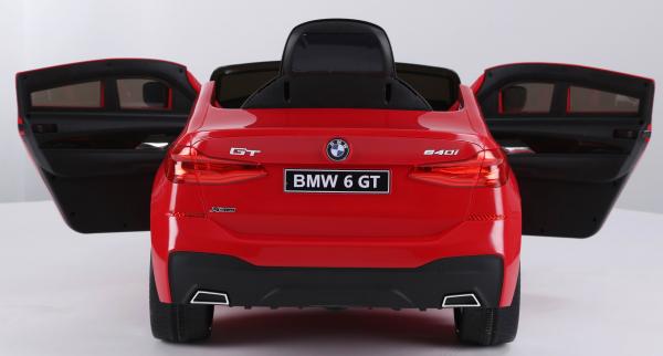 Masinuta electrica Bmw Seria 6 GT 60W 12V STANDARD #Rosu [6]