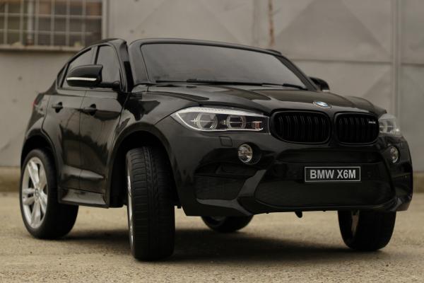 Masinuta electrica BMW X6M 12V XXL PREMIUM #Negru 3