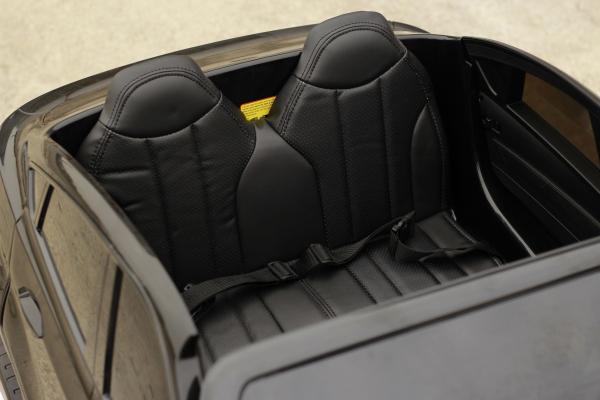 Masinuta electrica BMW X6M 12V XXL PREMIUM #Negru 4