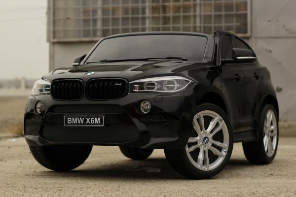Masinuta electrica BMW X6M 12V XXL PREMIUM #Negru 2