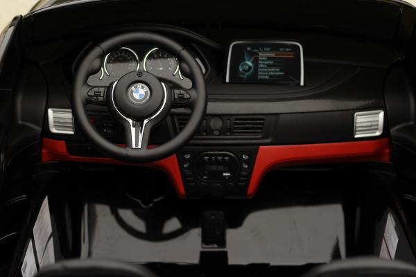 Masinuta electrica BMW X6M 12V XXL PREMIUM #Negru 5