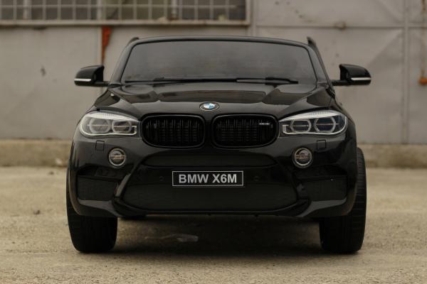 Masinuta electrica BMW X6M 12V XXL PREMIUM #Negru 1