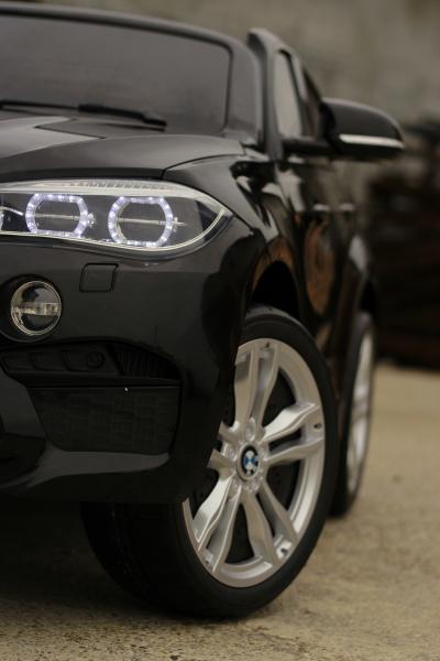 Masinuta electrica BMW X6M 12V XXL PREMIUM #Negru 13