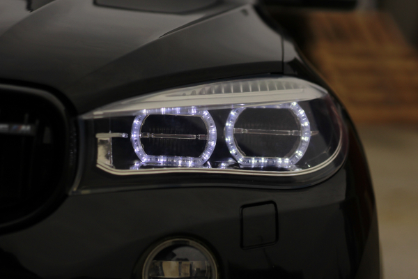 Masinuta electrica BMW X6M 12V XXL PREMIUM #Negru 14