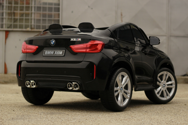 Masinuta electrica BMW X6M 12V XXL PREMIUM #Negru 11